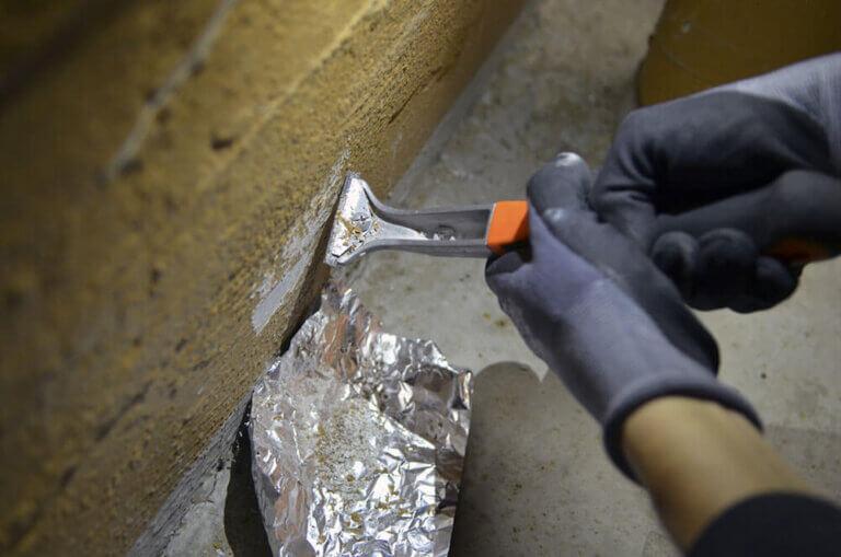 DMA er påbegyndt et forskningsprojekt omkring forsegling/sanering af asbest