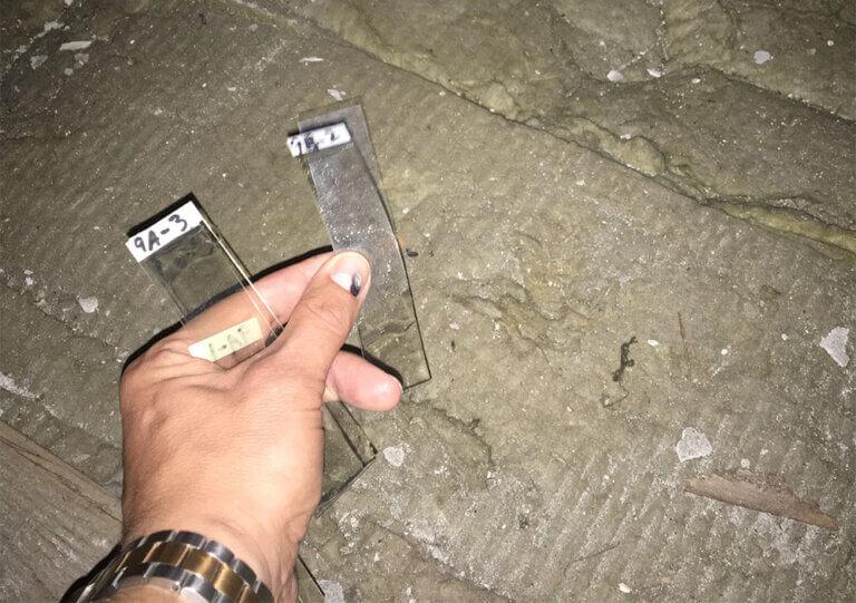 Vidste du at … der er forskel på luft og geltape-prøver for asbest